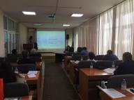 Seminar on the theme: «Application of the regulatory and legal acts of the Republic of Kazakhstan in the field of fire safety in new conditions»